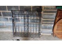Cast Iron Gates - pair