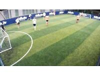 Football players wanted in Nine Elms