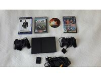 PS2 game console