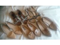 Womens Bundle Job lot sandals Shoes Size 7/6, Clarks and other brand