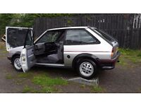 ONCE IN A LIFE TIME OPPORTUNITY,1988 FORD FIESTA XR2 ONLY 46000 MILES,rs,xr3i,cosworth,st,gt,foucus,
