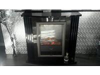 Black High gloss fire suite