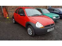 Ford ka 32000 miles only FULL year mot perfect first car similar clio peugeot micra fiesta corsa