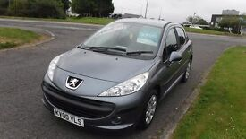 PEUGET 206 1.4S,2008,Electric Windows,Remote Central Locking,Air Con,Full Service History,Very Clean