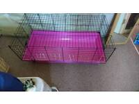 Large pink cage