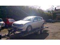 BREAKING Astra H vectra Z16XE Meriva ,corsa ,agila doors gearbox, radio, doors cookstown antrim