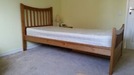 Pine Single Beds (additional under-bed storage available) , and Bedside Cabinets