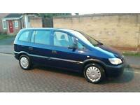VAUXHALLL ZAFIRA 2005 LONG MOT 7 SEATS DRIVES PERFECT