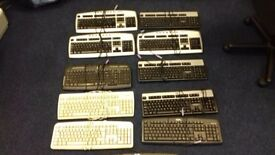 11 x PS2 keyboards