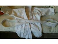 Judo top of uniform with belt. Age 4-6