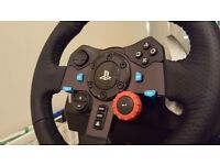MINT Logitech G29 PS4 Steering Wheel and Stand Frame