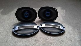 SONY XPLOD 2 WAY CONE SPEAKERS 60W..