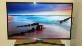 """SAMSUNG 32"""" J5100 5 Series Flat Full HD TV GREAT CONDITION + ROKU STREAMING STICK for £200"""