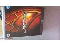 The spiderman collection box set