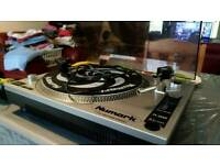 Numark deck, Turntable record player & headphones pioneer