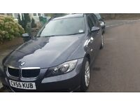 BMW 3 series, 320d touring estate 2.0L Low mileage, top spec/leather/blue tooth & sat nav