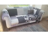 Sofa and armchair from DFS
