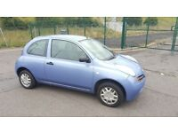 2004 Nissan Micra S 1.2 Petrol 10 Month MOT 81000 Miles Only