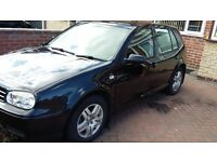 Reduced VW Golf MK4 GT TDI 130 5 Door Hatch - Metallic Black Genuine 141k with fresh MOT
