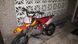 Wpb 140cc pitbike