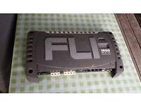 car amplifier FLI 1000W and subwoofer 1000W