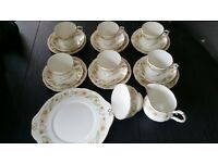 Duchess Bone China 21 piece Tea Set