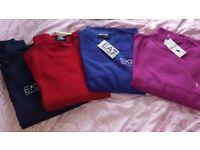 Emporio/lauren jumpers
