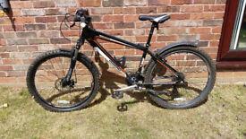 Off Road Bike - Diamond Back - Black with white/Orange trim