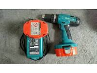 Makita 8391D 18V Drill with 2 Batteries and Charger