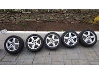 Alloy Wheels - Audi 17inch set of 5