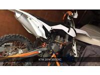 KTM 350 EXC 2014