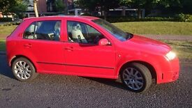 Skoda Fabia vRS in excellent condition with full service history