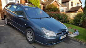 Citroen C5 diesel estate. 2007. 12 mths MOT. High spec family car
