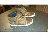 Brown Vans boots - size 7
