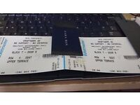 Pair of Kraftwerk tickets FACE VALUE £120