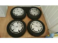 Honda alloy wheels with 15""
