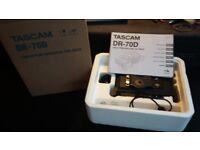 Tascam DR70d audio field recorder