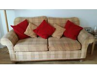 Armchair and 3 seater sofa FREE