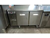 Commercial bench counter pizza fridge for shop pizza meat nsjja