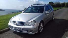 Mercedes C220 Cdi Avantgarde SE estate in Iridium silver