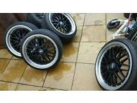 BBS LM 5x120 bmw 19 inch alloy wheels and tyre