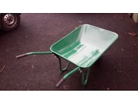 brand new wheel barrow 65 litre.