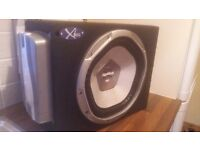 1200 wat sony explod sub (xl series) with built in amp