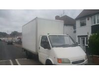 Ford Transit 2.5l Diesel Luton Van 3.5t with rlectric tail-lift