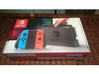 Nintendo Switch boxed, as new