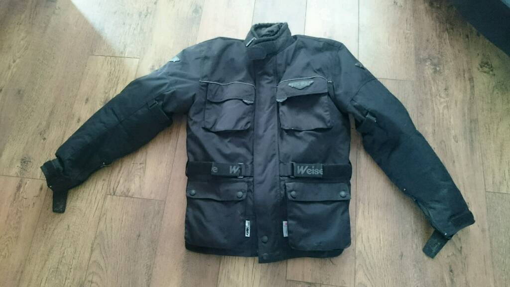 Wise waterproof motorcycle jacket size large