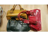 Selection of 9 handbags / purse inc Aldo