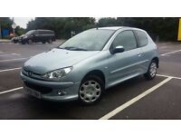 PEUGEOT 206 ZEST 1.1 / low millage / 1 year fresh mot £860