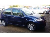 Oriental Blue 2006 Citroen C3 1.4i 5 door Desire - OFFERS WELCOME