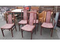5 dining chairs